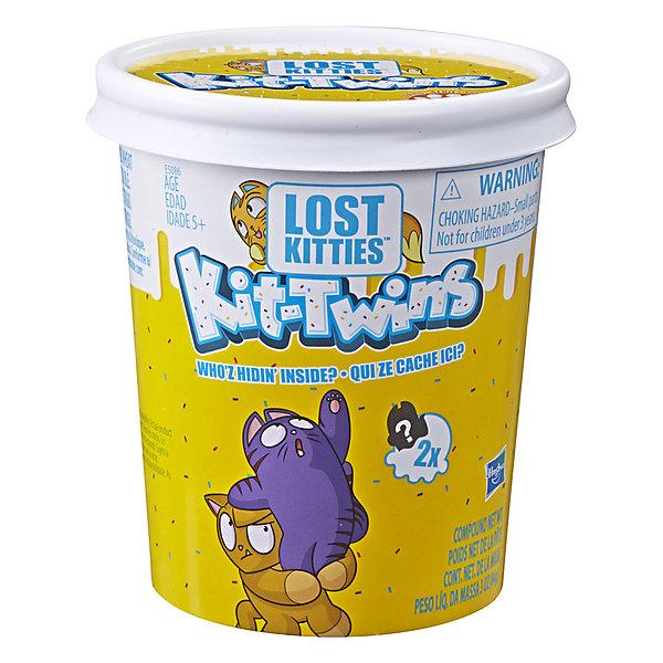 Купить Игровой набор Lost Kitties Котики-близнецы, в закрытой упаковке, Hasbro, Китай, Женский