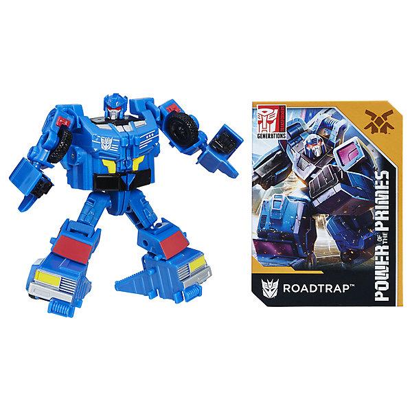 Hasbro Трансформеры Transformers Дженерейшнз Сила праймов лэджендс: Роадтрэп, 9,5 см