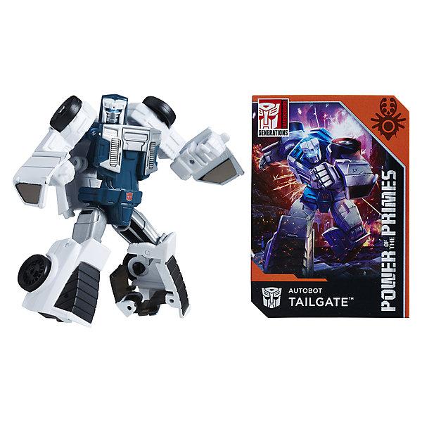 Hasbro Трансформеры Transformers Дженерейшнз Сила праймов лэджендс: Автобот Тэйлгейт, 9,5 см