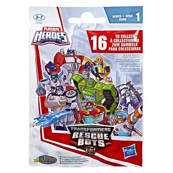 Трансформеры Transformers Боты спасатели, в закытой упаковкеФигурки из мультфильмов<br>Характеристики товара:<br><br>• возраст: от 9 лет<br>• материал: пластик<br>• любимый герой: Transformers<br>• серия: Боты спасатели выпуск 1<br>• упаковка: закрытый пакет<br>• вес в упаковке: 31 гр.<br>• размер упаковки: 10,2х3,2х12,7 см<br>• страна бренда: США<br><br>Новые коллекционные фигурки трансформеров в закрытом пакете-сюрпризе. Какой робот попадётся можно узнать только, вскрыв упаковку. Всего в первой серии 16 разных персонажей. Собери их все.