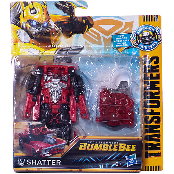 Hasbro Трансформеры Transformers Заряд Энергона Шаттер, 15 см