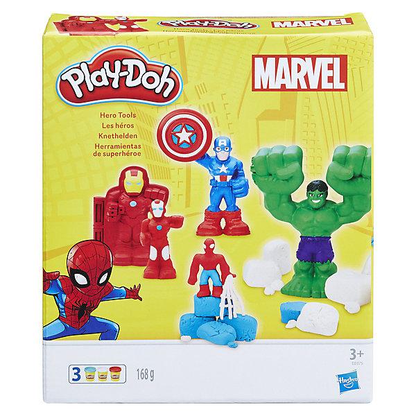 """Hasbro Игровой набор Play-Doh """"Герои Марвел"""""""