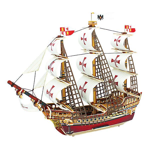 Robotime Сборная модель Robotime Корабль Санта-Мария сборная модель zvezda корабль санта мария 6510
