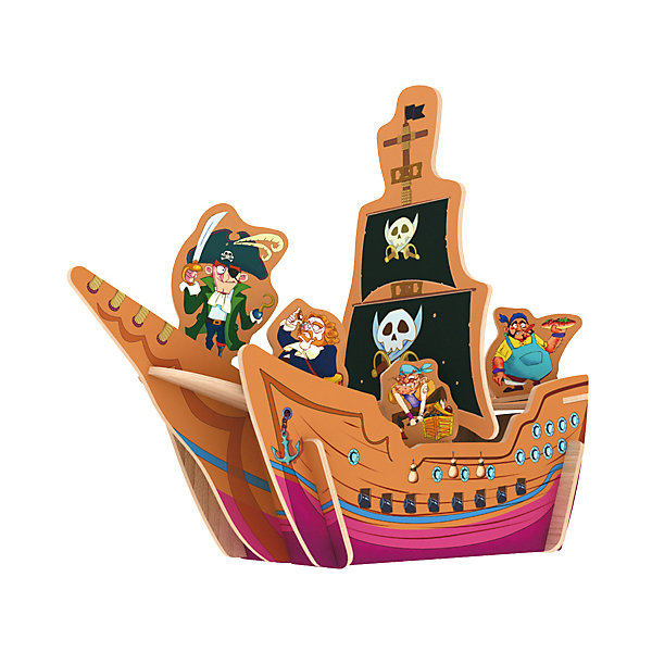 Robotime Сборная модель Robotime Пиратский корабль модель сборная revell пиратский корабль