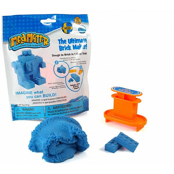 "Масса для лепки Mad Mattr ""The Ultimate Brick Maker"" голубая, Голубой"