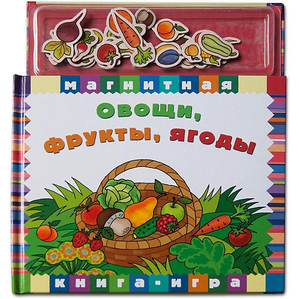 Новый формат Первая книга малыша Магнитные книжки Овощи, фрукты, ягоды трафарет инструменты