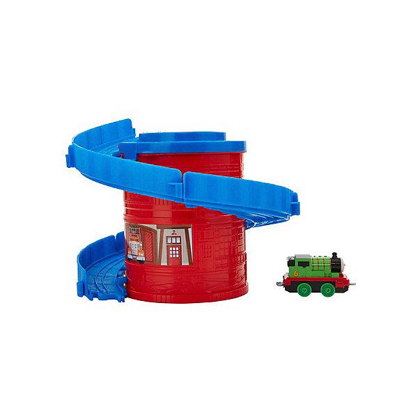 Mattel Игровой набор Thomas and friends Башня-спираль с тарссой Башенные дорожки Перси