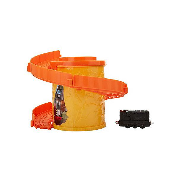 Mattel Игровой набор Thomas and friends Башня-спираль с тарссой Башенные дорожки Дизелем