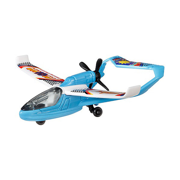 Mattel Самолётик Hot Wheels Sea Arrow flip magic самолётик