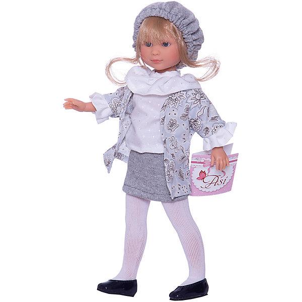 Asi Кукла Asi Селия в сером костюме, 30 см rk 763 кукла в украинском костюме росина 1147599
