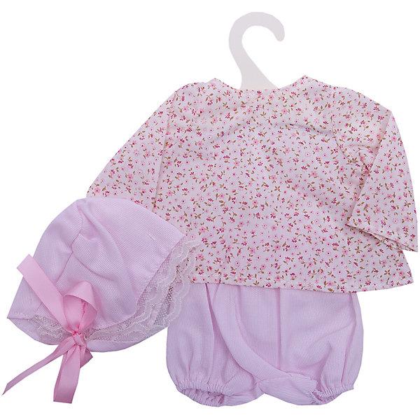 Asi Одежда для кукол Asi Рубашка, шорты и чепчик, 40 см куклы и одежда для кукол asi кукла нелли 43 см 253340