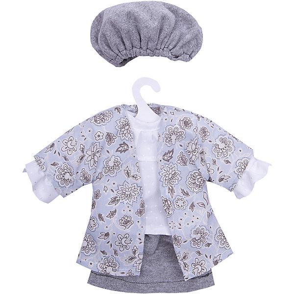 куклы и одежда для кукол asi одежда для кукол 60 см 0000092 Asi Одежда для кукол Asi Рубашка, юбка и шапочка, 40 см