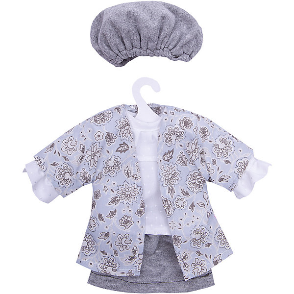 Asi Одежда для кукол Asi Рубашка, юбка и шапочка, 40 см цена