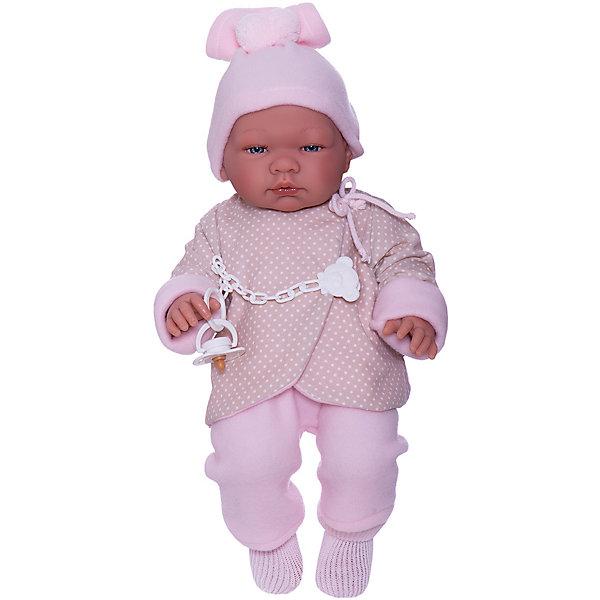 Asi Кукла-пупс Мария в бежево-розовом 43 см, арт 364050