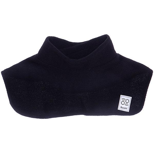 Купить Шарф BOOM by Orby для мальчика, Россия, черный, one size, Мужской
