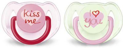 Пустышка силиконовая Philips Avent Classic, 6-18 мес., 2 шт., розовый, артикул:10036807 - Уход и гигиена