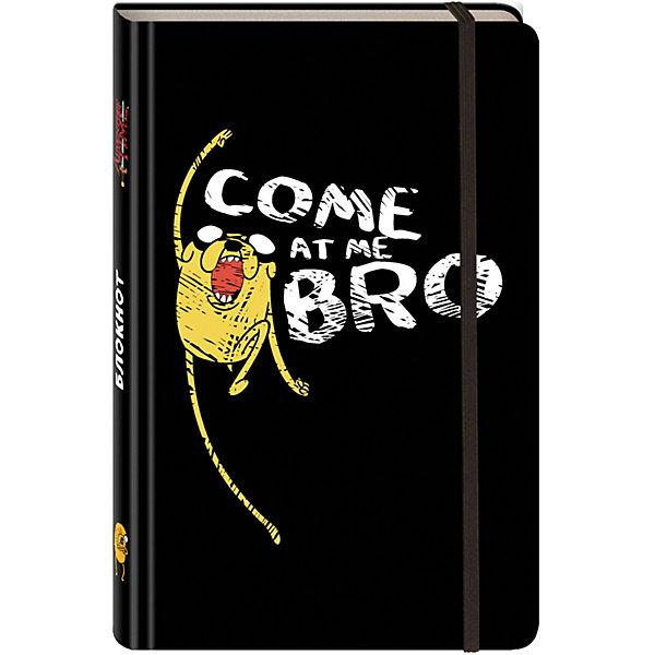 Эксмо Блокнот Джейк. Come at me, bro (с резинкой), Эксмо книги эксмо аниморфозы творческий блокнот