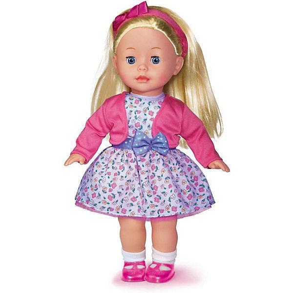 КАРАПУЗ Кукла Карапуз в белом платье, озвученная, 40 см куклы карапуз кукла карапуз