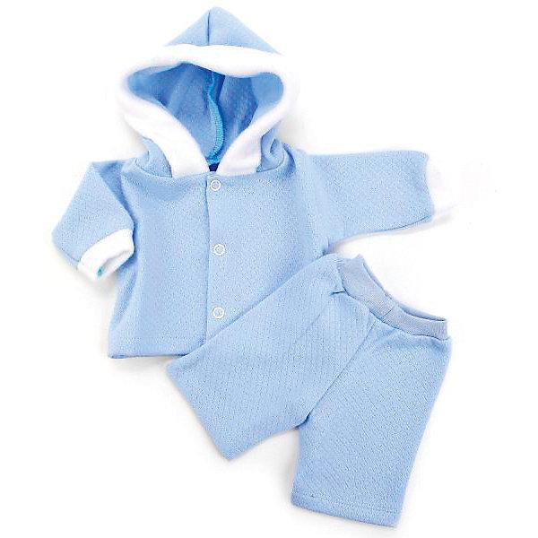КАРАПУЗ Одежда для кукол Карапуз Голубой костюм, 40-42 см alternativa ванночка карапуз alternativa голубой