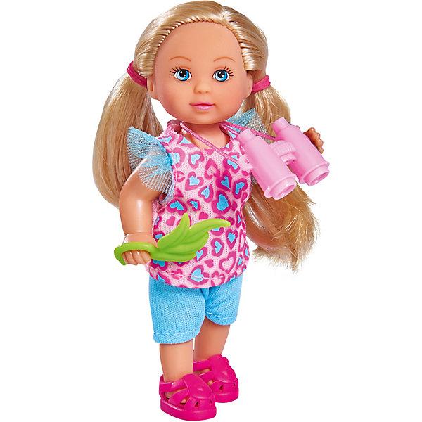 Купить Игровой набор с мини-куклой Simba Evi Love Еви и сафари, 12 см, Китай, разноцветный, Женский