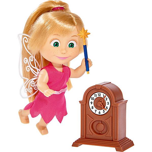 Simba Мини-кукла Simba Маша и Медведь Маша в костюме феи с аксессуарами, 12 см simba мини кукла simba маша и медведь маша в одежде повара 12 см