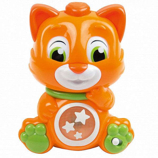 Clementoni Интерактивная игрушка Clementoni Кошечка со сменой эмоций пластмассовые clementoni вертолет и аэролодка