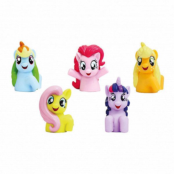 Росмэн Пальчиковый театр Росмэн My little pony, 5 фигурок дрофа медиа набор для изготовления игрушек пальчиковый театр зоопарк