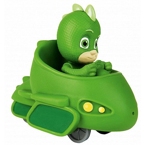 Росмэн Игрушка для ванны Росмэн Герои в масках Гекко в машине игрушки для ванны воронежская игрушка игрушка для ванны мышка лакомка 6 5 см
