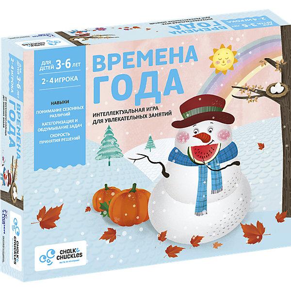 Купить Настольная игра для детей Chalk&Chuckles Времена года , Индия, Унисекс