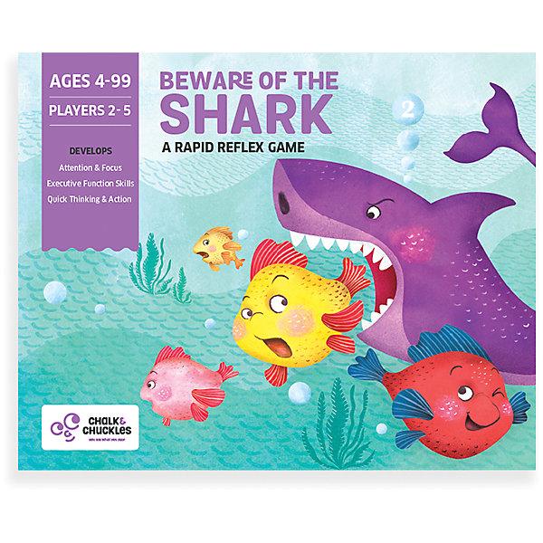 """Настольная игра Chalk&Chuckles """"Берегись акулы!"""""""