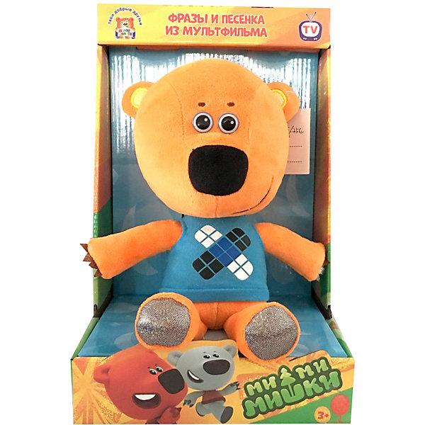 Мульти-Пульти Мягкая игрушка Мульти-Пульти Ми-ми-мишки Кешка, озвученная, 25 см, в коробке мульти пульти мягкая игрушка мульти пульти медвежонок кешка 20 см звук
