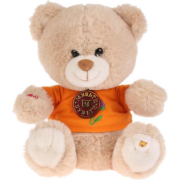 Мульти-Пульти Мягкая игрушка Мульти-Пульти Мишка, озвученная, 25 см мягкие игрушки мульти пульти кот 25 см