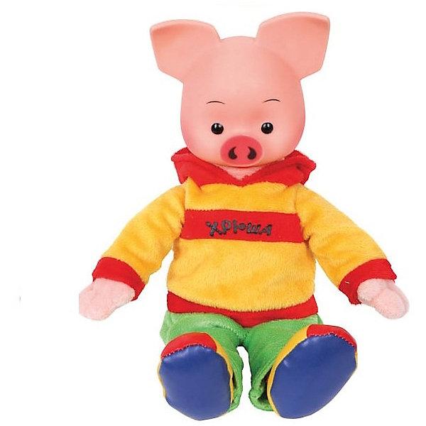 Мульти-Пульти Мягкая игрушка Мульти-Пульти Хрюша, озвученная, 25 см мягкие игрушки мульти пульти кот 25 см
