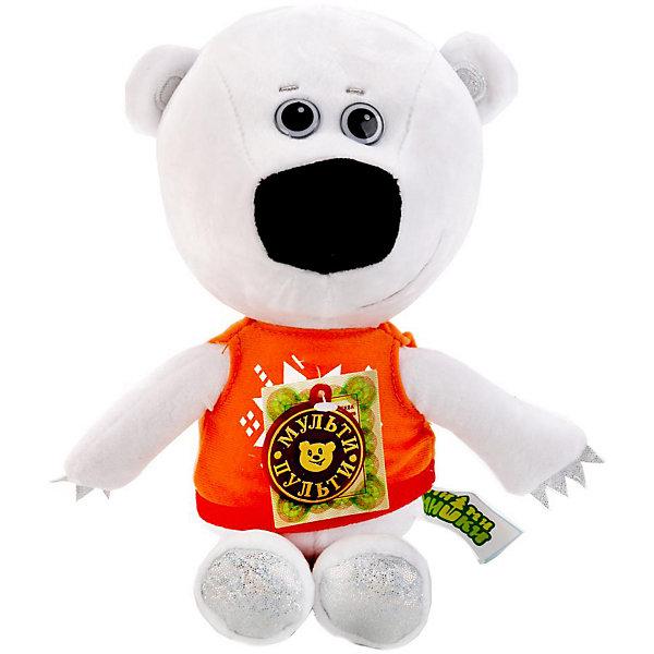 Купить Мягкая игрушка Мульти-Пульти Ми-ми-мишки Медвежонок Тучка, озвученная, 25 см, в пакете, МУЛЬТИ-ПУЛЬТИ, Китай, Унисекс