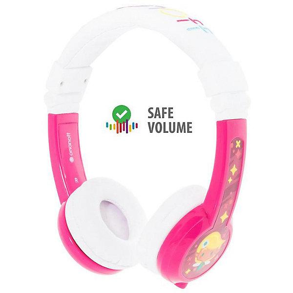 Buddyphones Наушники Buddyphones Explore Foldable Pink, розовые buddyfun k063807 наушники детские музыкальные детские игрушки наушники гарнитуры