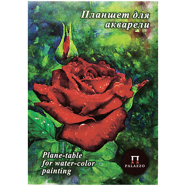 Лилия Холдинг Папка-планшет для пастели Лилия Холдинг Алая роза, А4, 20 листов