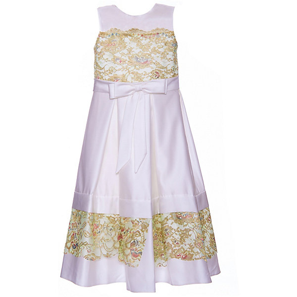 Купить Нарядное платье Престиж, Россия, зеленый, 128, Женский