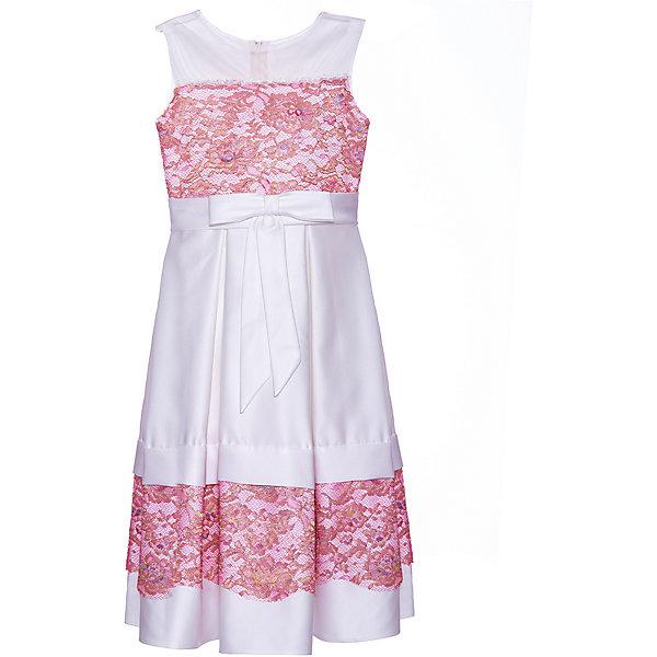 Купить Нарядное платье Престиж, Россия, красный, 128, Женский