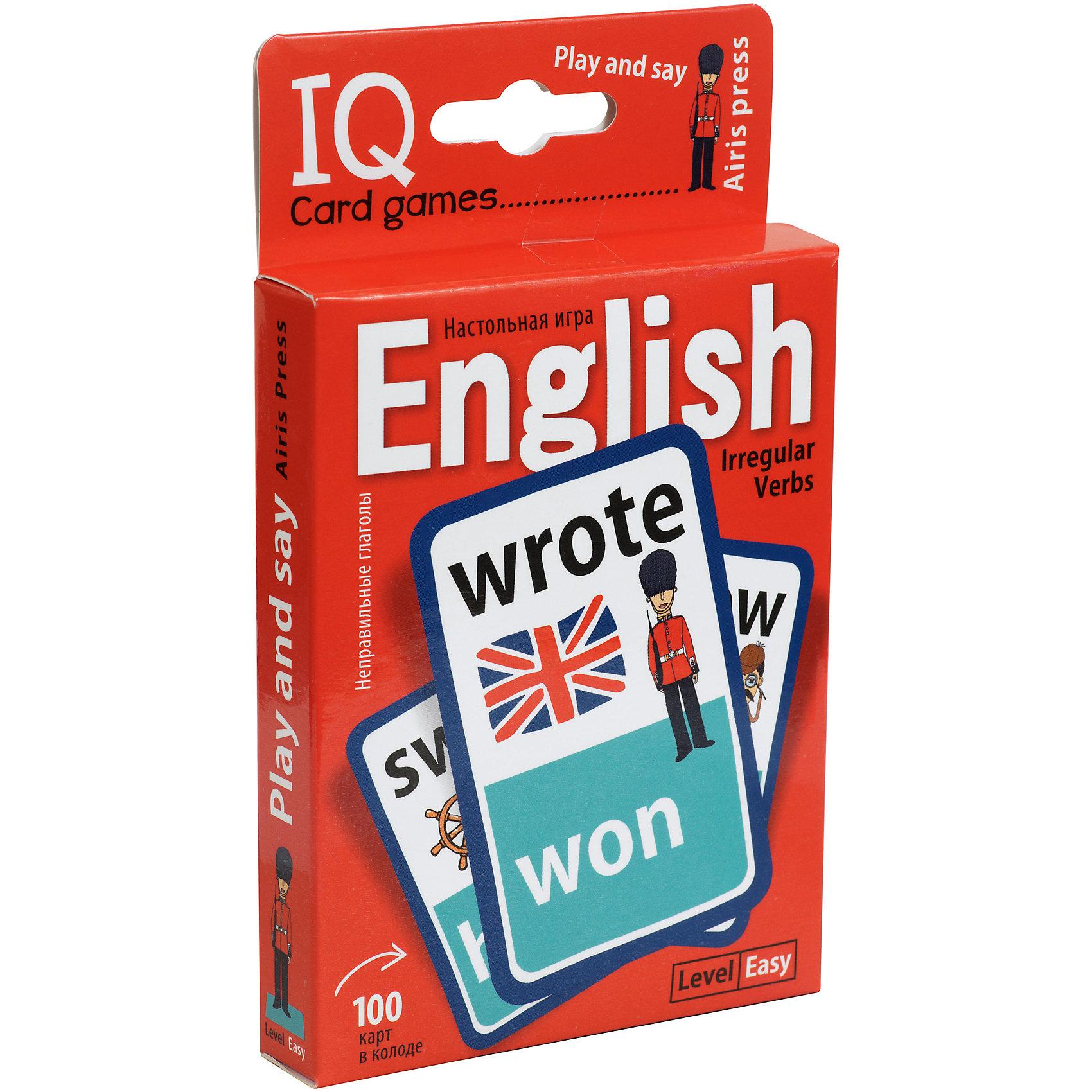 Английские неправильные глаголы