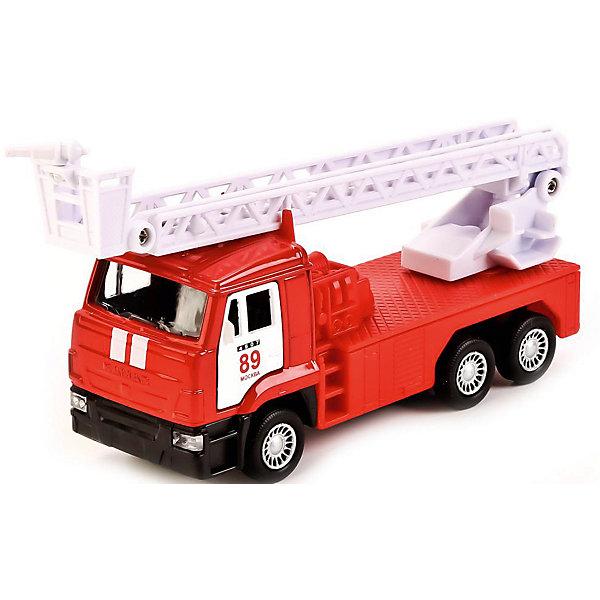 ТЕХНОПАРК Коллекционная машинка Технопарк Камаз Пожарная машина, 12 см технопарк машина камаз пожарная технопарк