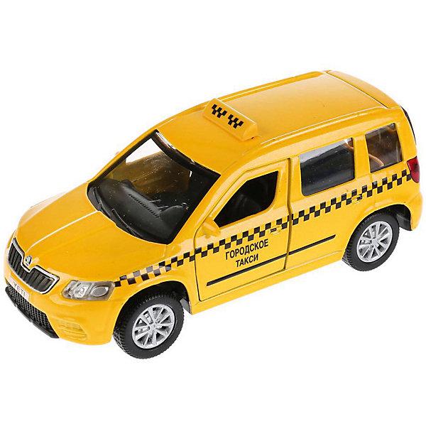 цена на ТЕХНОПАРК Машинка Технопарк Skoda Yeti Такси, 12 см