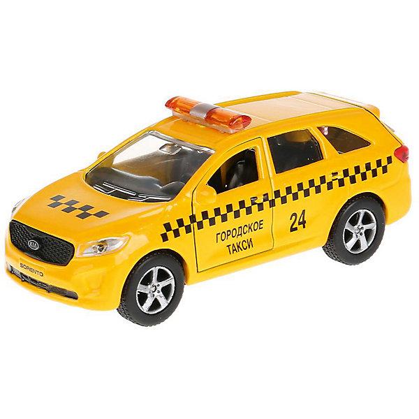 Купить Машинка Технопарк KIA Sorento Городское такси, 12 см, ТЕХНОПАРК, Китай, Мужской