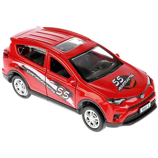 ТЕХНОПАРК Машинка Технопарк Toyota Rav4 Спорт, 12 см технопарк машинка технопарк volkswagen polo спорт 12 см