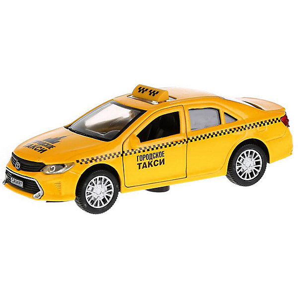 ТЕХНОПАРК Машинка Технопарк Toyota Camry Такси, 12 см технопарк машина ford transit такси с открывающимися дверями светом и звук ом технопарк