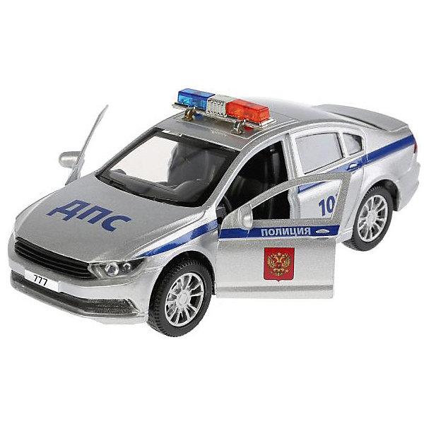ТЕХНОПАРК Машинка Технопарк Volkswagen Passat Полиция, 12 см