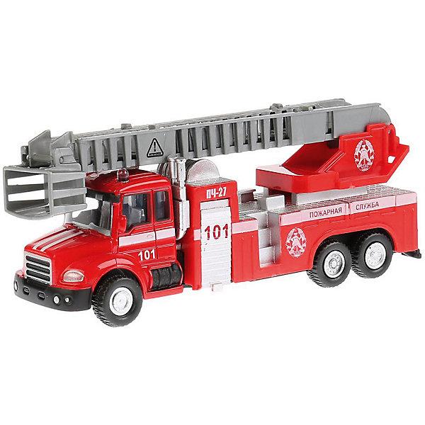 ТЕХНОПАРК Машинка Технопарк Пожарная машина, 15,5 см машинки технопарк машина технопарк