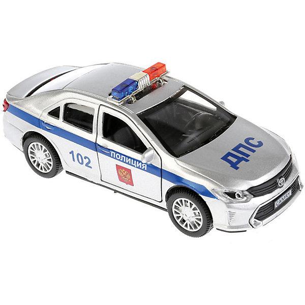 Фото - ТЕХНОПАРК Машинка Технопарк Toyota Camry Полиция, 12 см технопарк машинка технопарк урал 5557 полиция 12 см