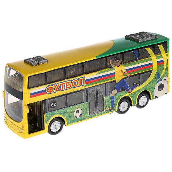 ТЕХНОПАРК Автобус Технопарк Футбол, 16 см технопарк автобус технопарк аэропорт 18 5 см
