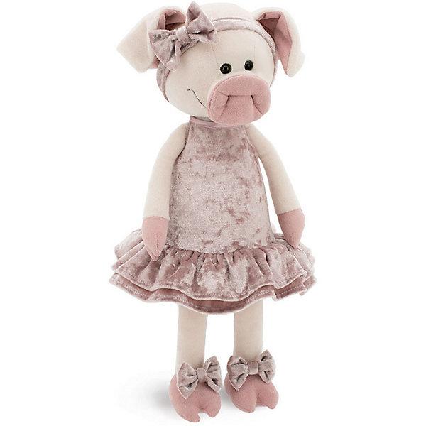 Купить Мягкая игрушка Orange Свинка Сонечка, 25 см, Китай, розовый, Унисекс