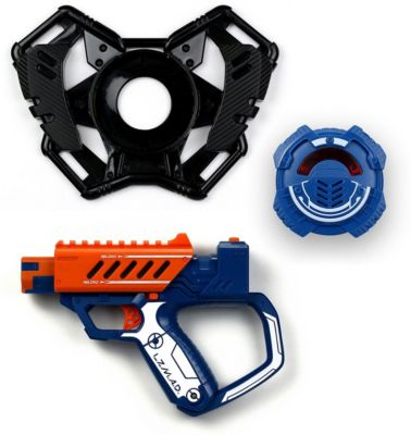 Стартовый набор Silverlit  Бластер с мишенью , оранжевый, артикул:10077729 - Игрушечное оружие